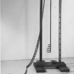 "Ordinary Life, 1989, steel, 96"" tall"